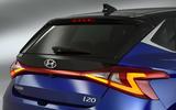 Hyundai i20 2020 studio images - rear lights