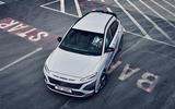 90 Hyundai Kona N official images road aerial