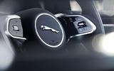 Jaguar I-Pace 2021 facelift official images - steering wheel