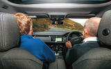 Land Rover Range Rover Evoque 2019 first ride review - Steve Cropley passenger 2