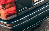 Lotus Carlton at 30 - exhaust