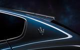 90 Maserati Levante Hybrid 2021 official images rear three quarters