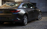 Mazda 3 2018 official reveal - saloon rear