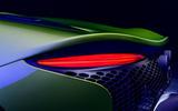 90 McLaren Artura 2021 Autocar images rear lights