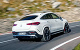 Mercedes-AMG GLE 53 prototype ride - on the road rear