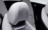 90 Mercedes AMG SL 2022 official interior headrests