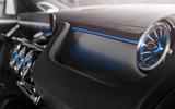 90 Mercedes Benz EQA official images interior trim