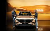 90 Mercedes Benz EQB 2021 official images nose talk