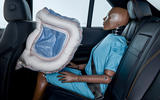 Mercedes-Benz ESF 2019 concept - official press images - rear airbag
