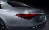 2021 Mercedes-Benz S-Class official reveal images - rear lights