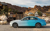 Mercedes-Benz E-Class 2020 prototype ride - static side