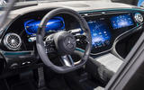 90 Mercedes EQS official reveal images dashboard