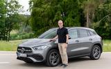 Mercedes-Benz GLA 250e 2020 prototype drive - interview