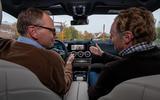 Mercedes-Benz GLA prototype ride 2019 - Greg Kable talking