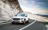 Mercedes-Benz GLB 2019 official reveal - cornering front