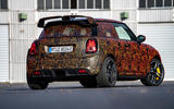 Mini JCW GPE prototype official images - static rear