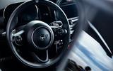 2020 Mini JCW GP first ride - steering wheel