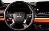 90 Mitsubishi Outlander 2021 official images steering wheel