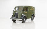 Morris JE electric van official images - static original