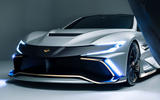 Naran Automotive hypercar official reveal - close-up nose