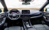 90 Nissan Qashqai 2021 official reveal dashboard