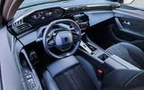 90 Peugeot 308 hatch 2021 FD dashboard