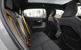 2020 Polestar 2 prototype drive - rear seats