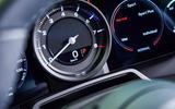 2019 Porsche 911 official reveal - press still speedo