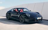 Porsche 911 Targa 992 official images - static front