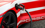 90 Porsche Autocar EV record breakers 2021 charging port