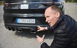 90 Porsche Cayene Turbo Coupe prototype 2022 interview exhausts