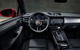 90 Porsche Macan 2021 official images dashboard