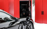 Porsche Taycan prototype ride 2019 - Porsche chargers