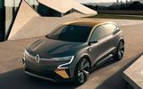 Renault Megane eVision concept official images - static front