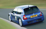 Renaultsport history picture special - Clio V6 (phase 2) rear