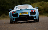 Road test rewind: Noble M600 - cornering rear