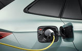 Skoda Enyaq official reveal images - studio charging