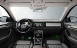 90 Skoda Kodiaq MY2021 facelift official images dashboard