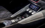 Skoda Vision RS concept drive - centre console