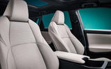 90 Toyota ZEV concept official reveal front seats