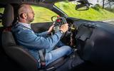 Vauxhall Corsa 2019 prototype drive - Matt Prior driving