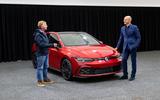 Volkswagen Golf GTI 2020 design cues - talking