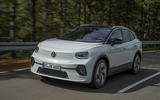 2021 Volkswagen ID 4 prototype drive - on the road front