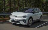 2021 Volkswagen ID 4 prototype drive - on the road front