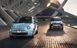 Fiat 500 Mild Hybrid and Fiat Panda Mild Hybrid 2020 - tracking front