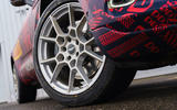 2020 Aston Martin DBX camouflaged prototype ride - alloy wheels