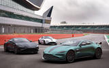 91 Aston Martin Vantage F1 Edition official reveal images static trio