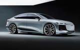 91 Audi A6 E tron Concept official static studio
