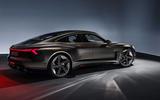 Auto E-tron GT concept official press reveal - static side