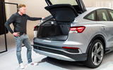 91 Audi Q4 etron 2021 official reveal boot